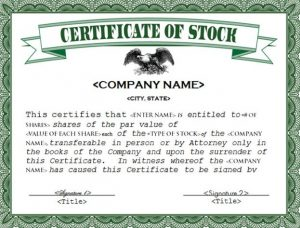 Wyoming Corporation Stock